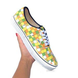 Classic Vans Factory Pack Neon Checkerboard | 9.5